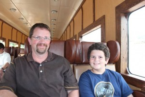 A Day on the Railroad as a Family